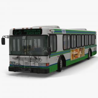 3D model Gillig Low Floor Advantage Bus