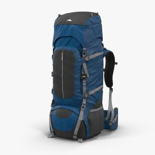 Large Camping Backpack 3D
