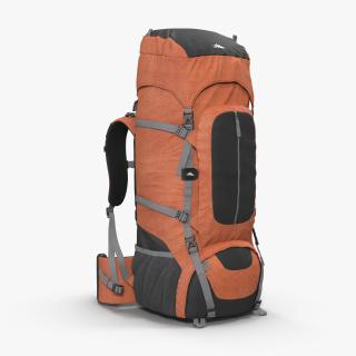 3D Large Camping Backpack Red
