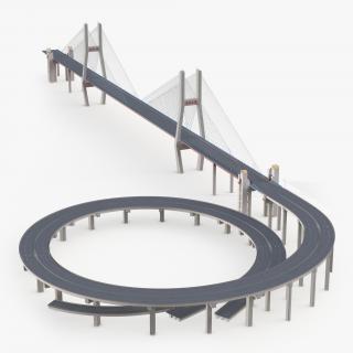 Nanpu Bridge 3D