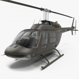 3D Bell 206 JetRanger Italian Army