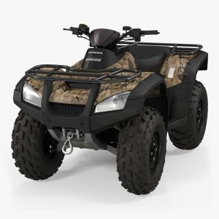 3D model Honda Quad Bike