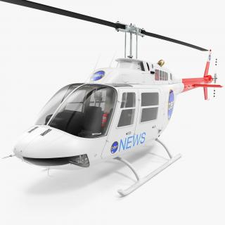 Bell 206B JetRanger III Ten News 3D