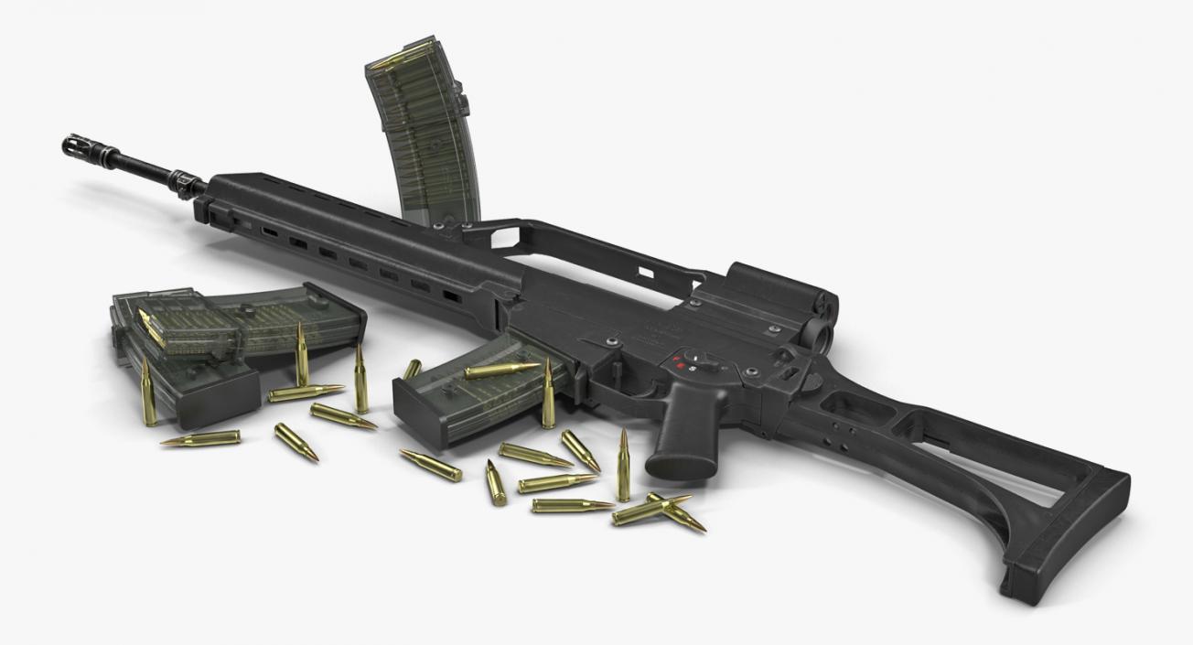 3D model Assault Rifle HK G36 | 3D Molier International