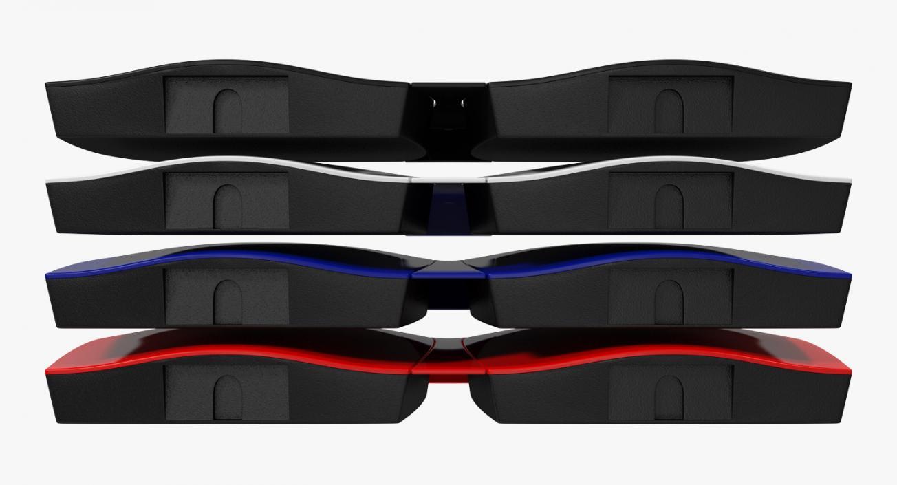 3D Tesla Powerwall Double Unit Set