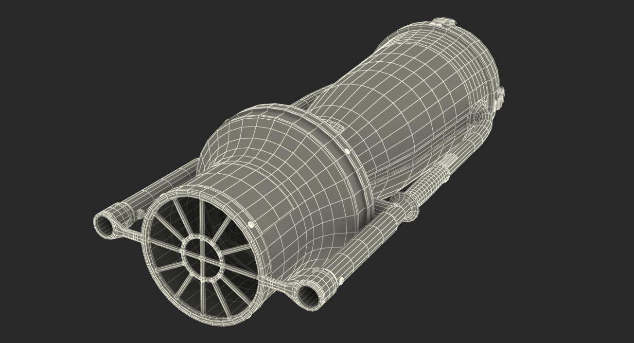 3D Underwater Scooter Torpedo 2000
