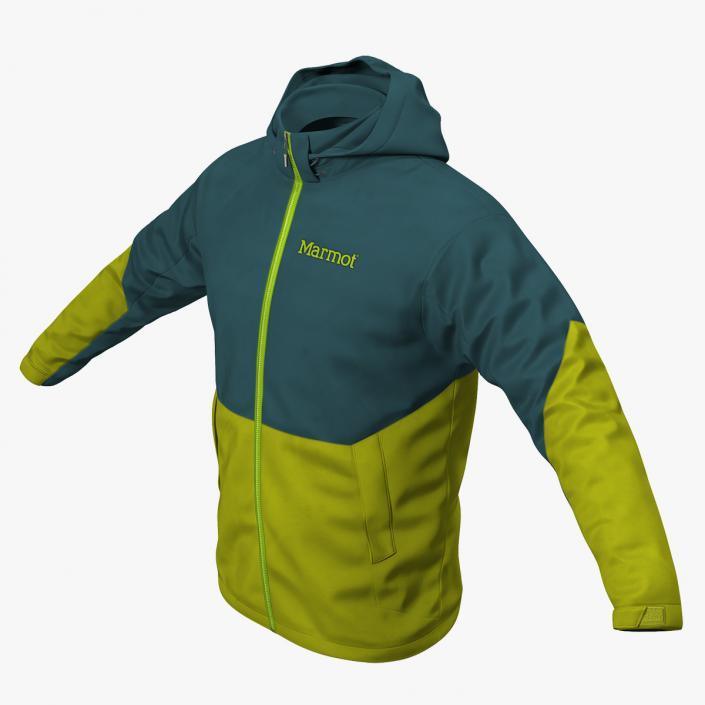 Winter Sport Jacket 3D model | 3D Molier International