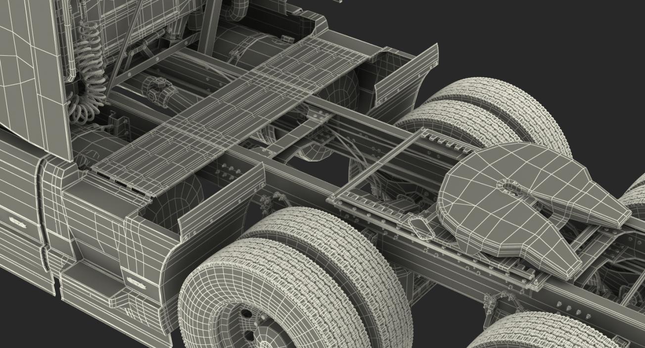 Volvo VNL 860 Truck 2018 3D model