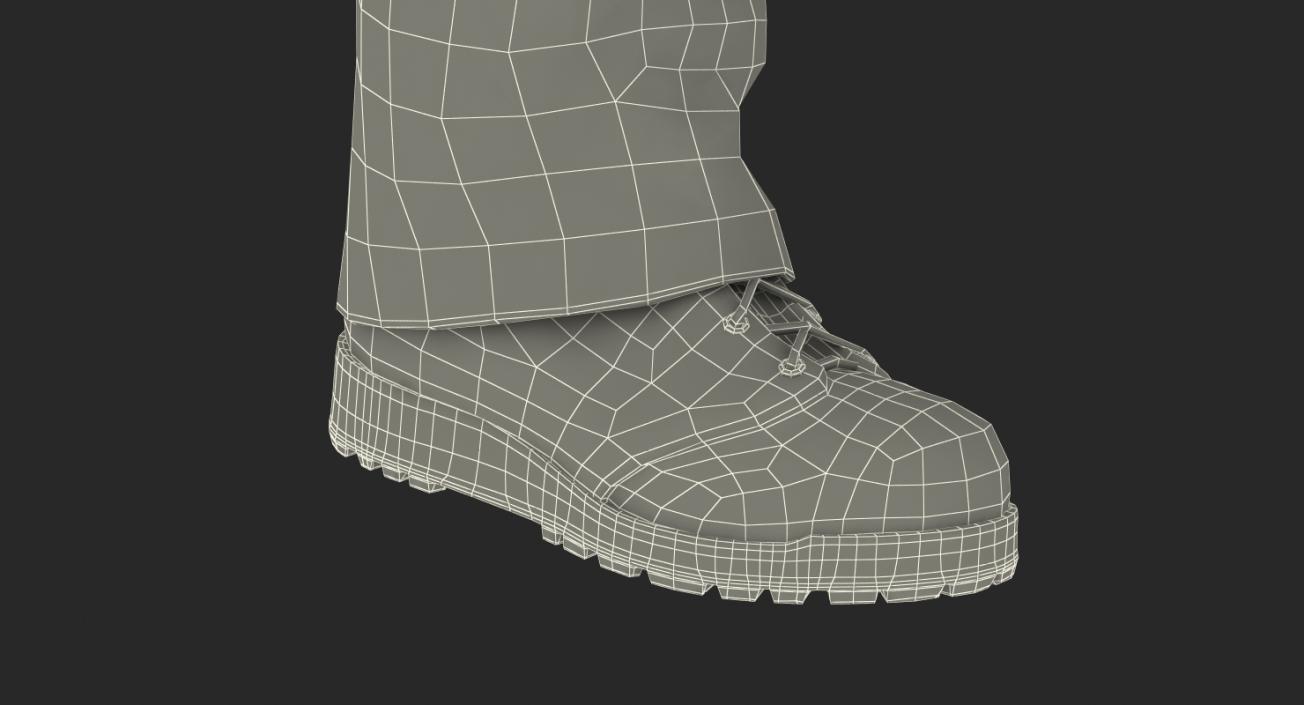 Worker Walking Pose 3D model