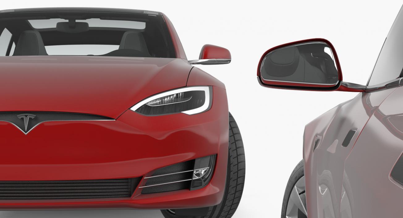 3D Tesla Model S 100D 2017 model