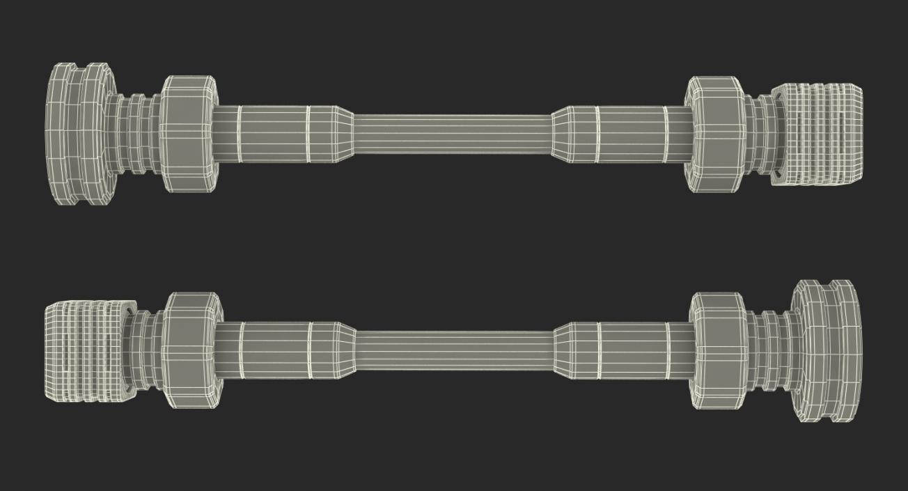 Sci-Fi Anodized Piston 6 3D model