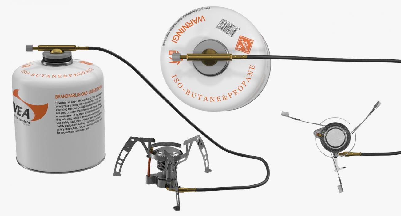 Portable Camping Gas Stove 2 Kovea 3D model