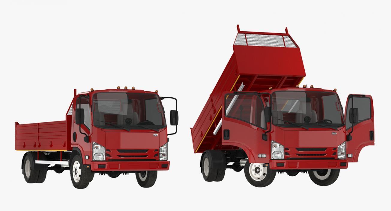 Dropside Truck Generic 3D