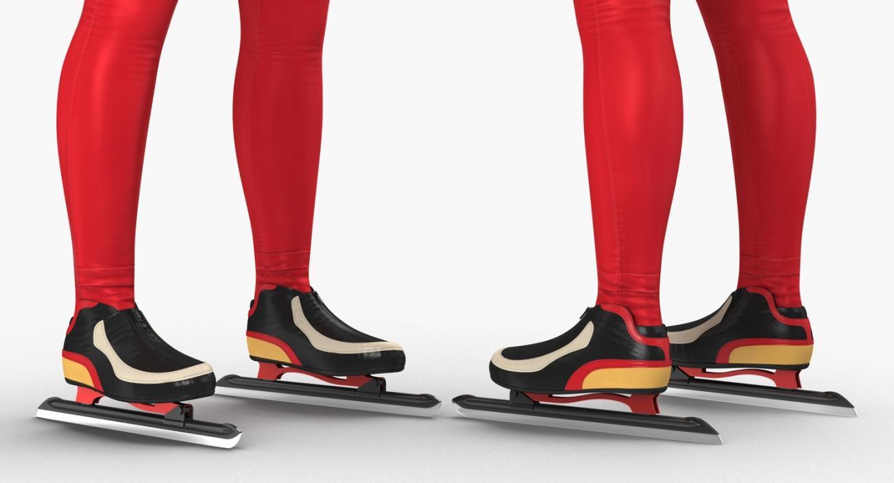 3D model Speed Skater Suit Generic