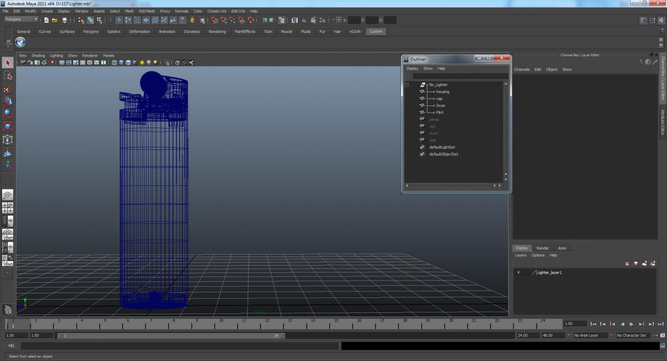 3D Bic Lighter   3D Molier International