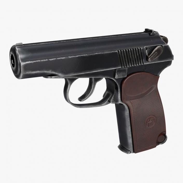 Makarov PM Pistol 3D