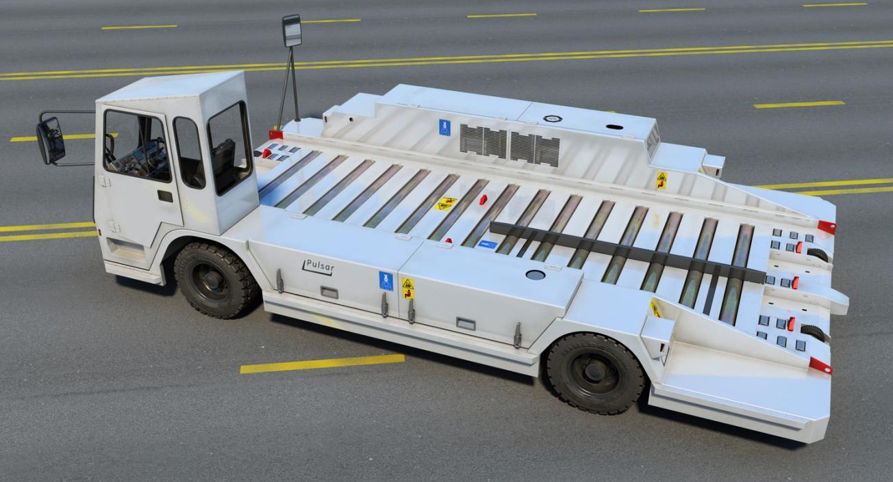 Container Pallet Transporter Pulsar 7 3D