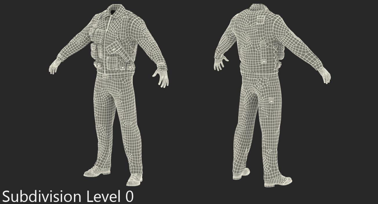 3D Military Uniform