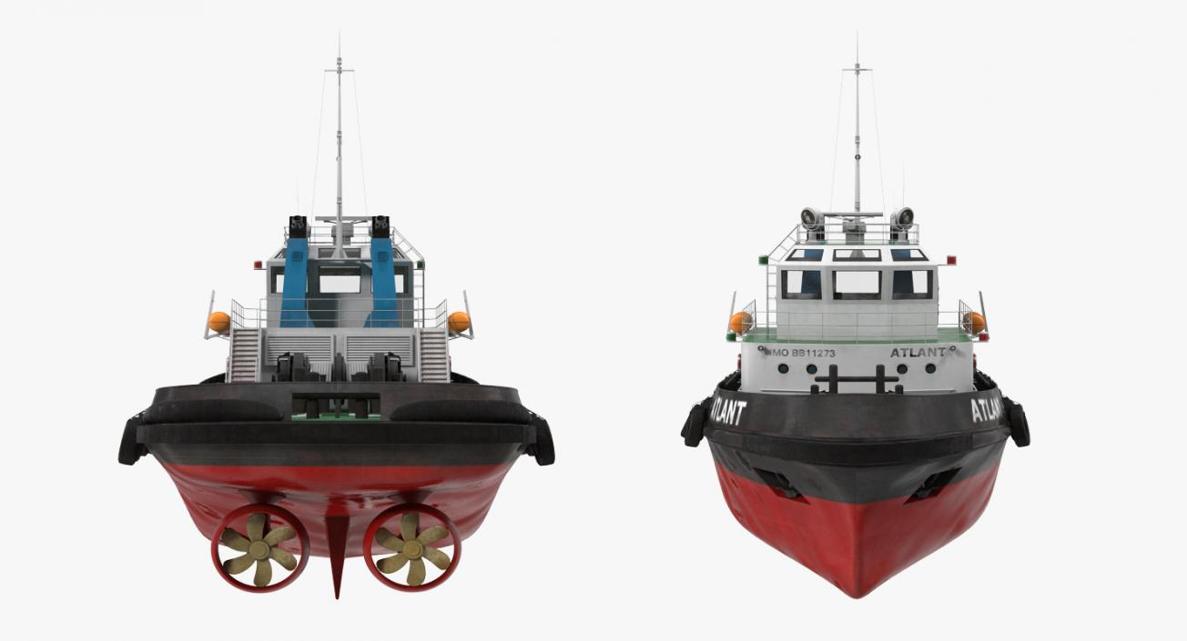 Deep Sea Tug 3D | 3D Molier International