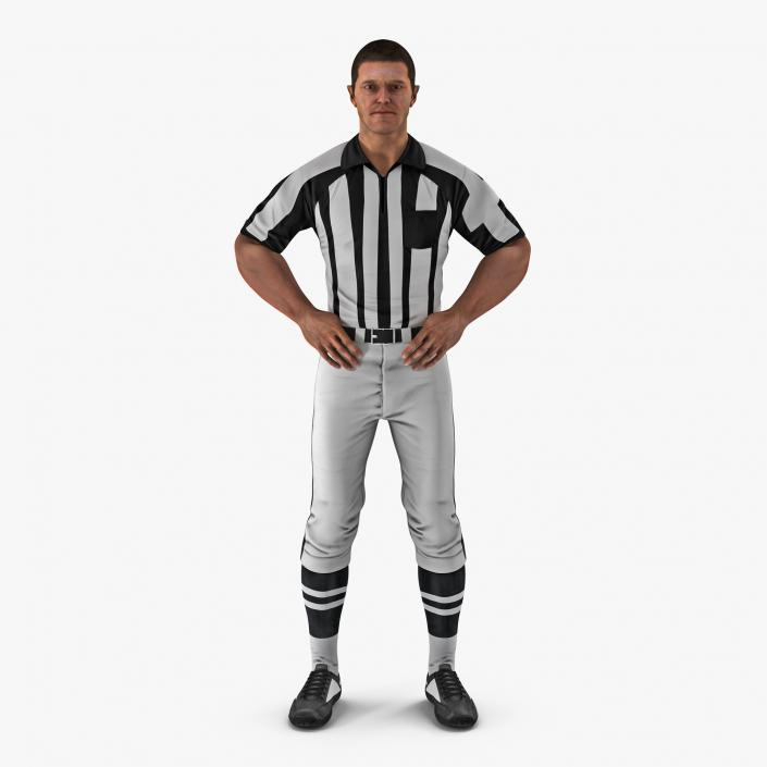 0c531c2a5 American Football Referee Rigged 3D