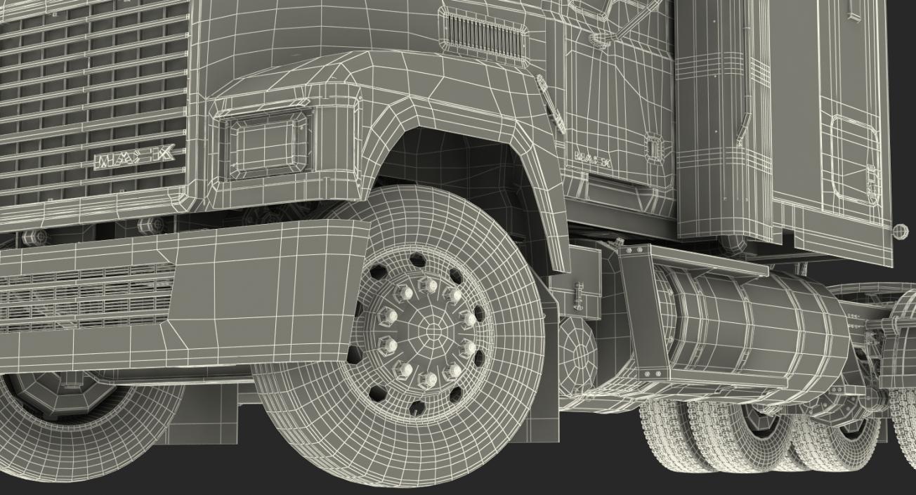 Mack CHU613 Truck 3D