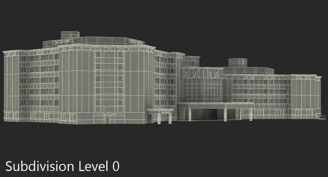 Hospital Building 3D