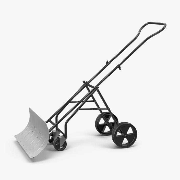 Rolling Snow Shovel 3D model