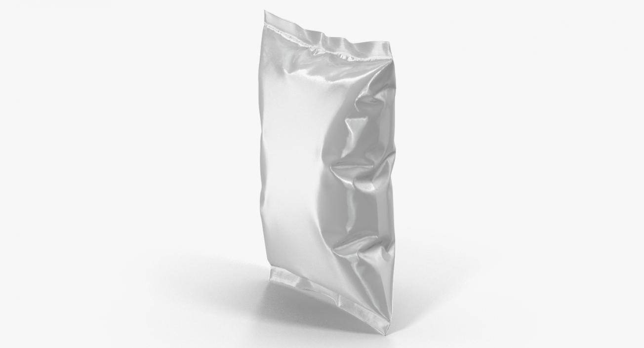 White Blank Plastic foil Food Package 3D | 3D Molier
