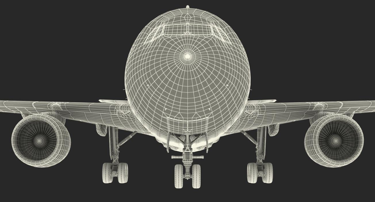 Cargo Aircraft Airbus A310-300F Generic 3D model