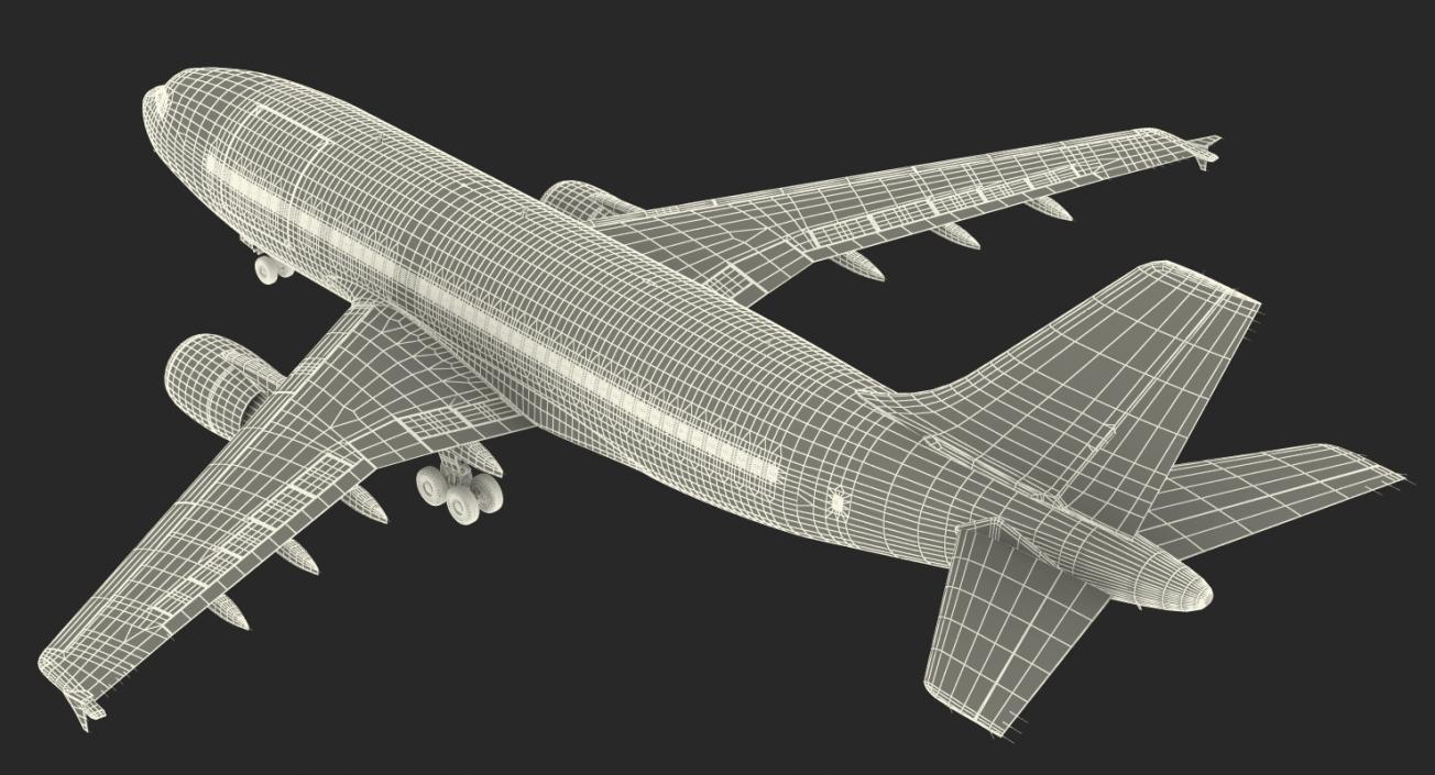 Cargo Aircraft Airbus A310-300F Generic 3D model