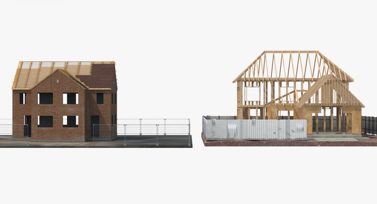 House Construction Collection 3D model
