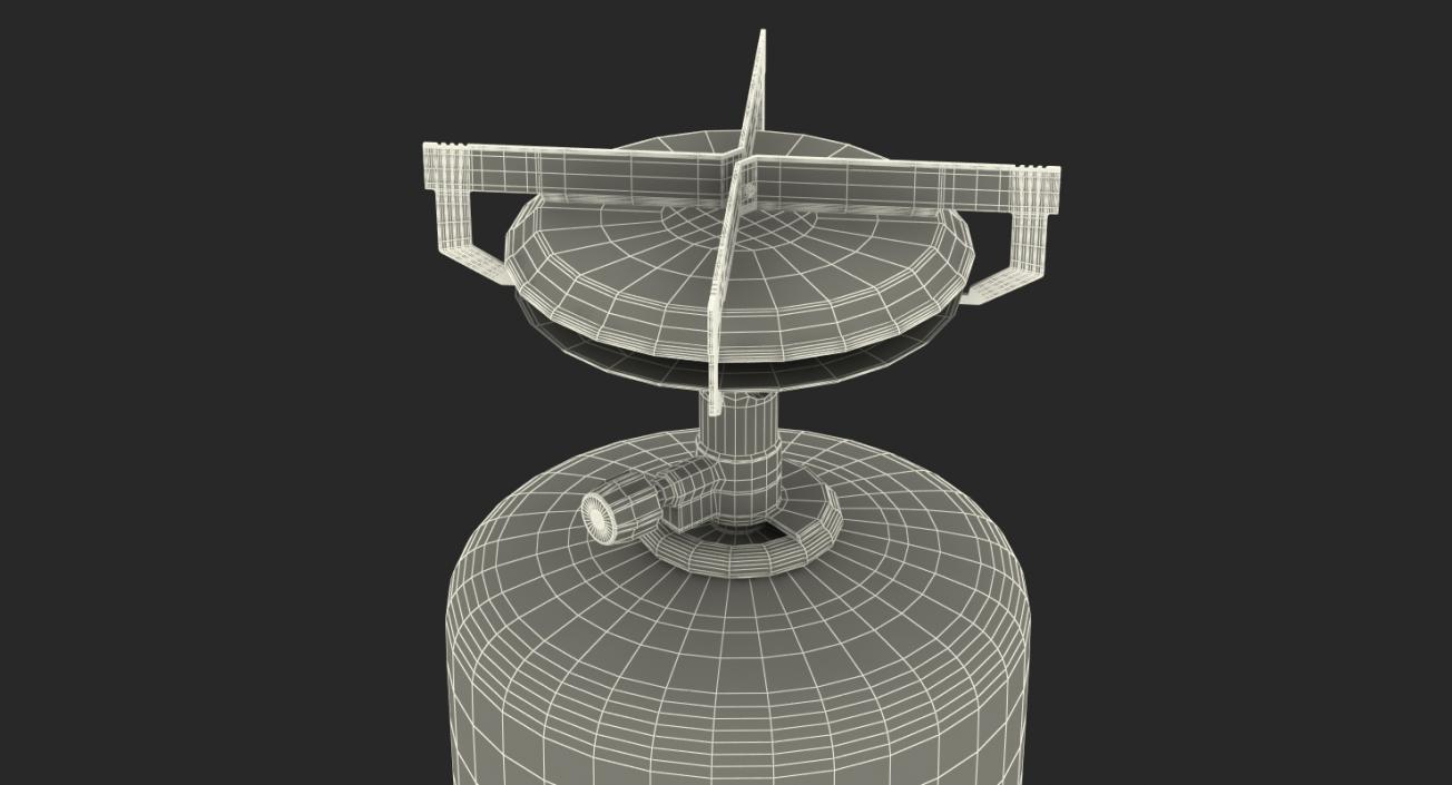 3D Mini Camping Gas Stove Kovea model