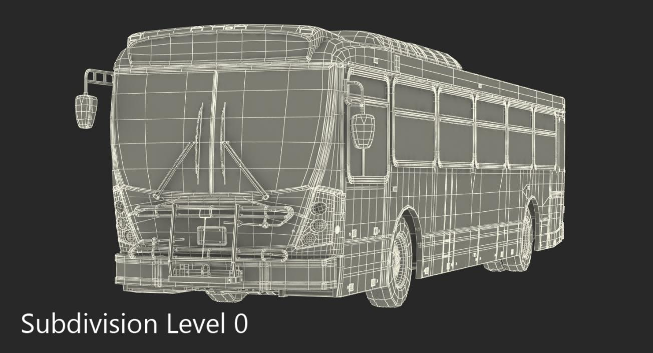 Bus Nabi Model 416 Miami Dade Transit 3D | 3D Molier International