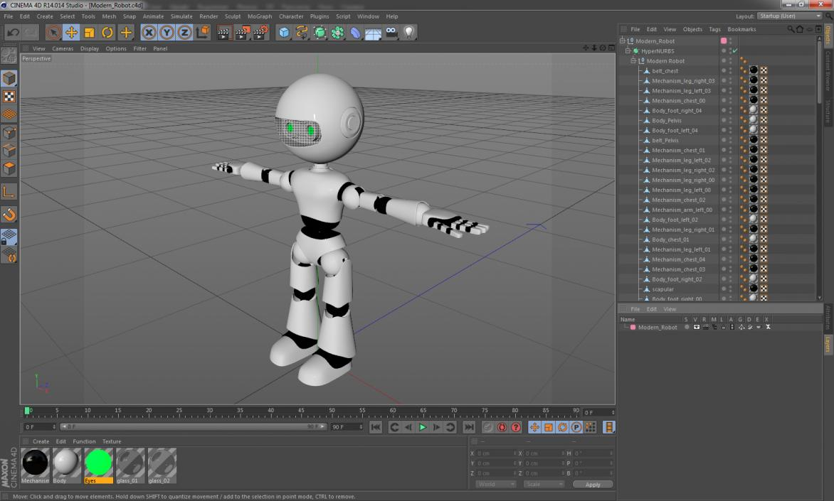 Modern Robot 3D | 3D Molier International
