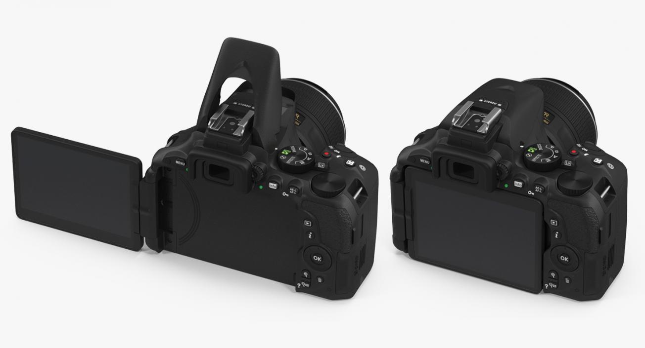 3D Digital Camera Nikon D5500