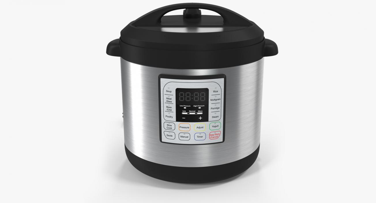 3D model Electric Pressure Cooker Instan Pot