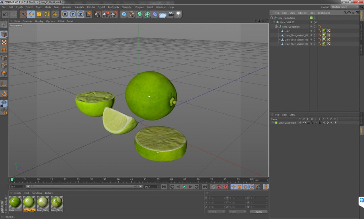3D model Lime Collection