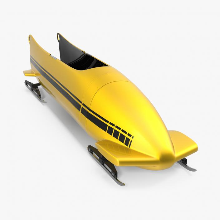 Bobsled Four Person Generic 3D