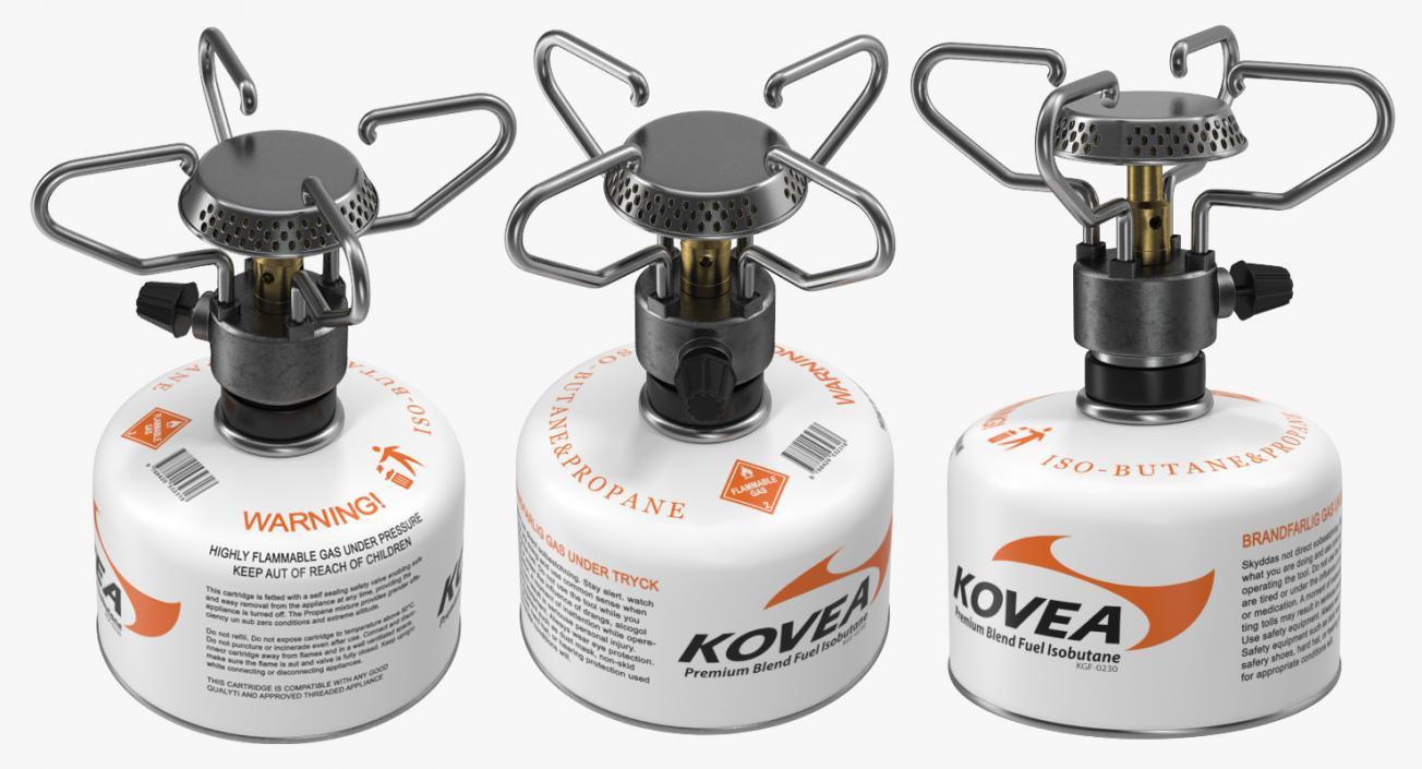 Portable Camping Gas Stove Kovea 3D