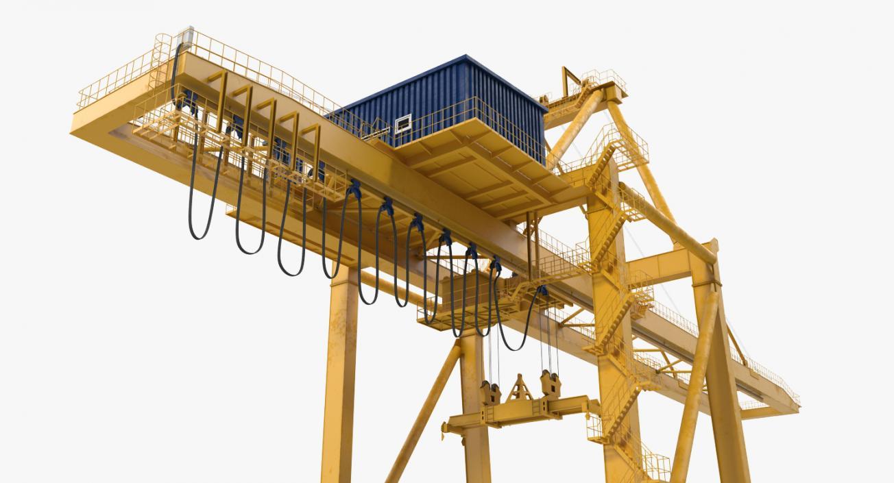 Quayside Container Crane 3D model