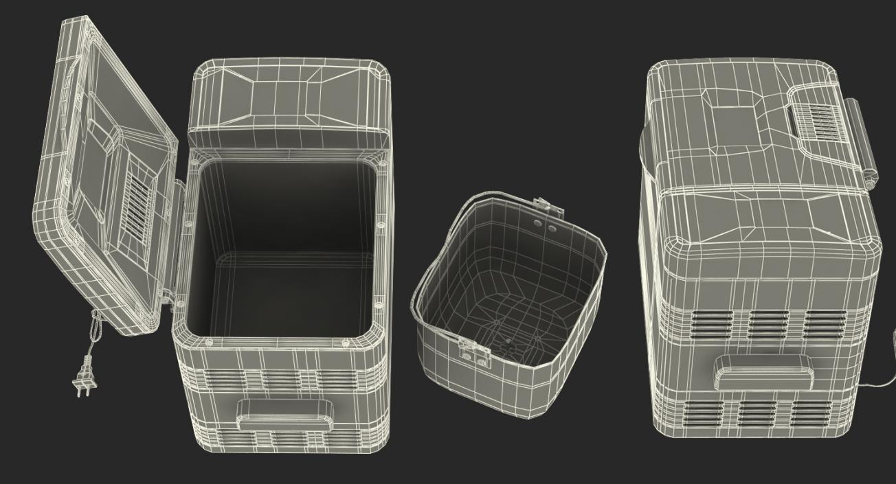 Professional Bread Maker 3D model