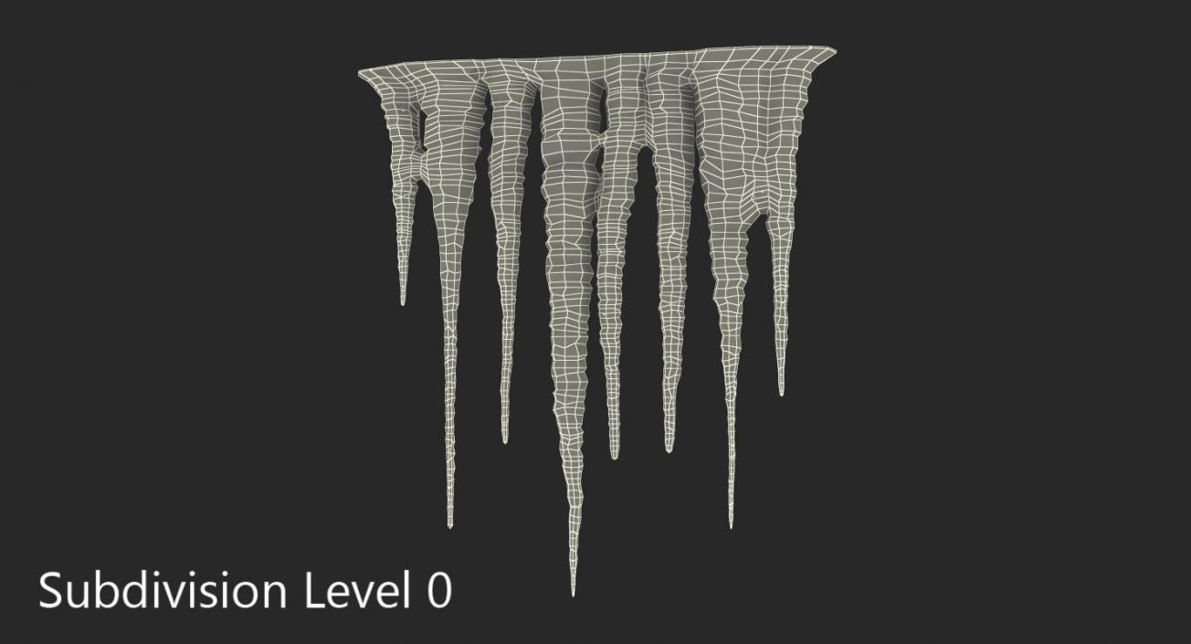 3D Ice Icicles