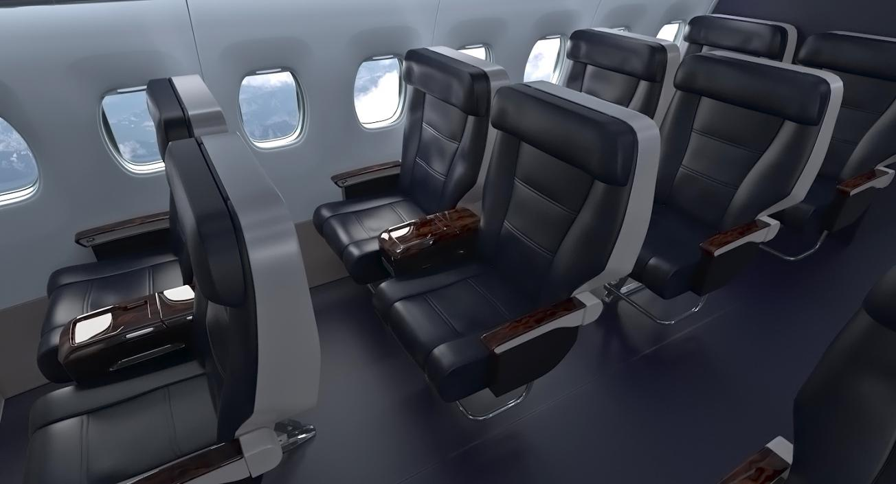 3d Boeing 737 900 With Interior United Airlines Rigged 3d Molier International