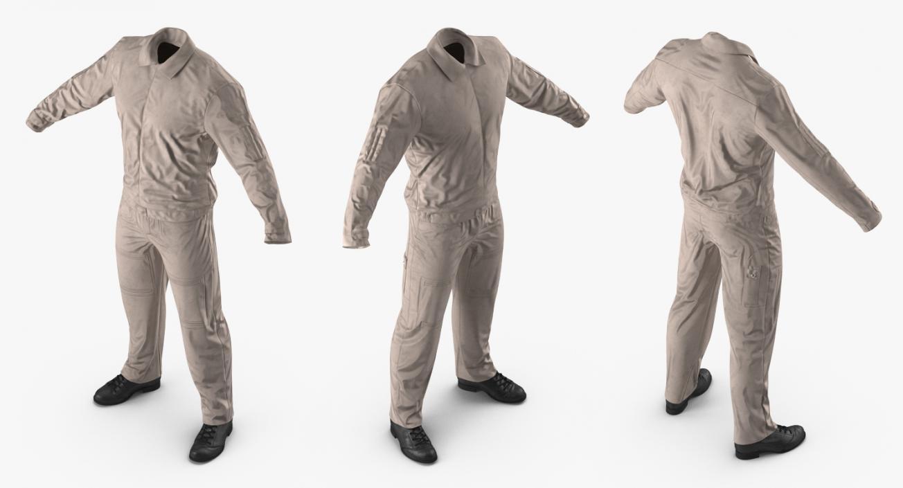 Pilot Flight Suit 3D