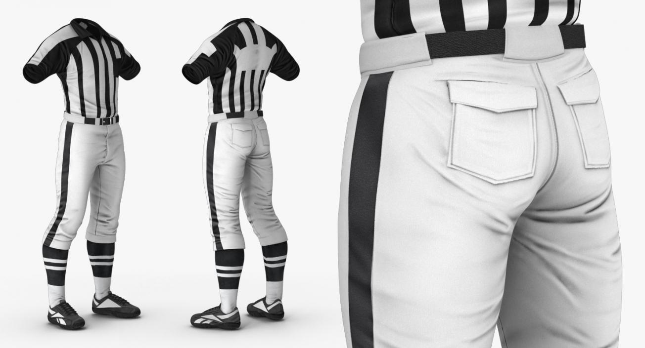 72d9c2c37 3D American Football Referee Uniform model