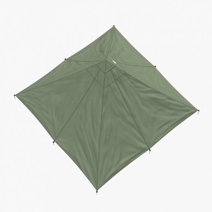 3D Floorless Camping Light Tent model