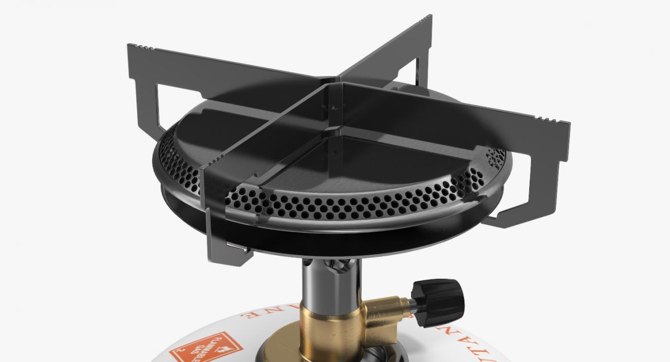 Single Burner Camping Gas Stove Kovea 3D