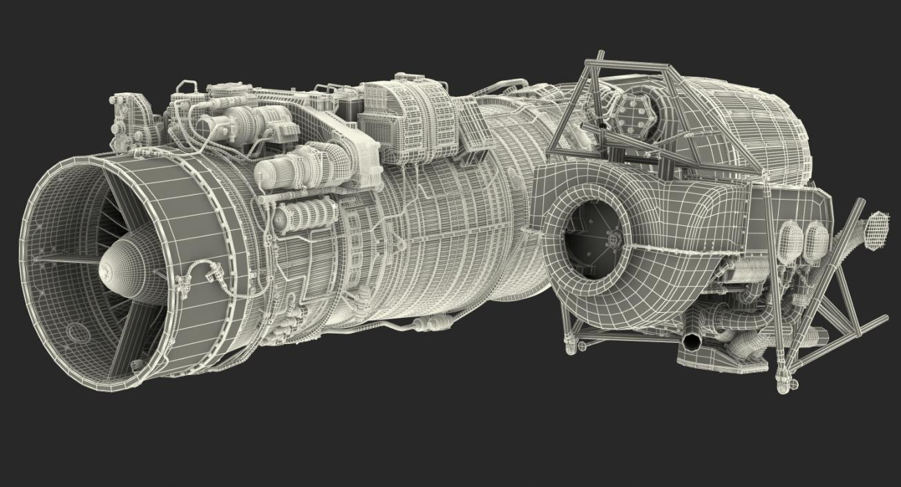 Aircraft Engines Collection 2 3D model | 3D Molier International