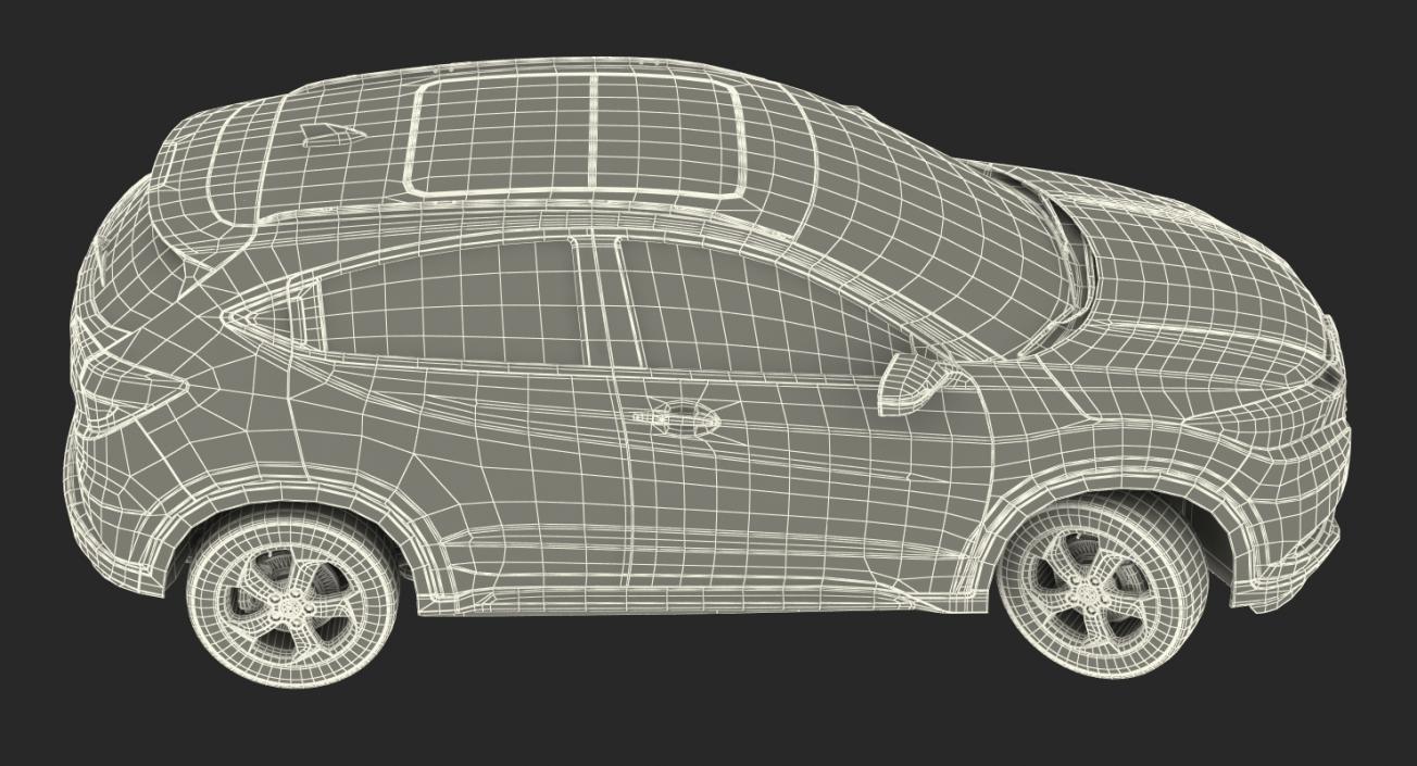 3D Honda HR-V 2017 Simple Interior