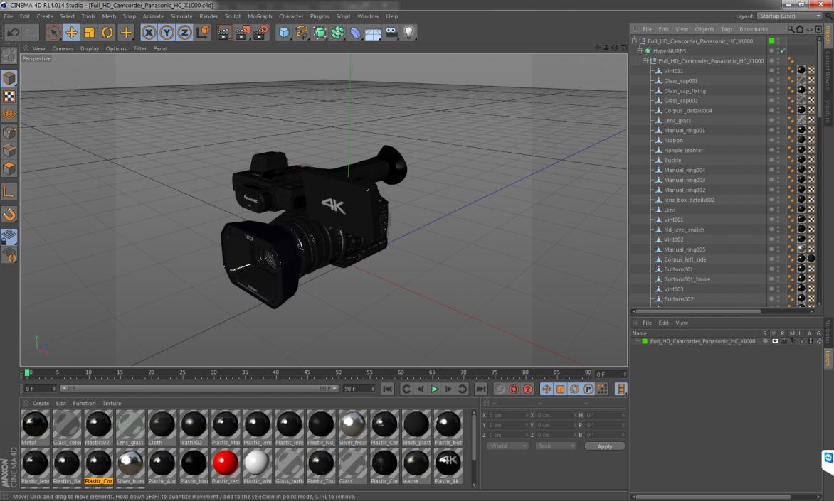 3D Full HD Camcorder Panasonic HC X1000 | 3D Molier